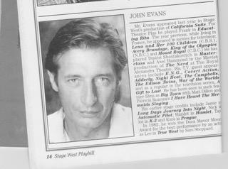 John Evans Stage West